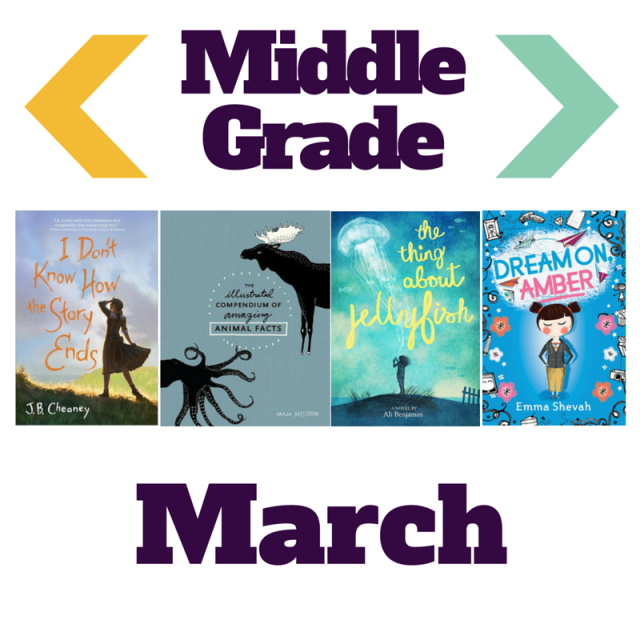 4 books perfect for middle graders to read